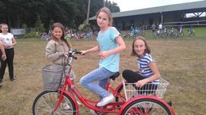 Wycieczka rowerowa klas V wyr