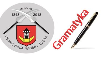 """Wyniki Szkolnego Konkursu Gramatycznego pod hasłem """"Miło sławić Miłosław"""""""