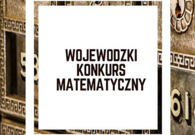 Etap szkolny Wojewódzkiego Konkursu Matematycznego
