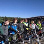 Wycieczka rowerowa klasy 8a