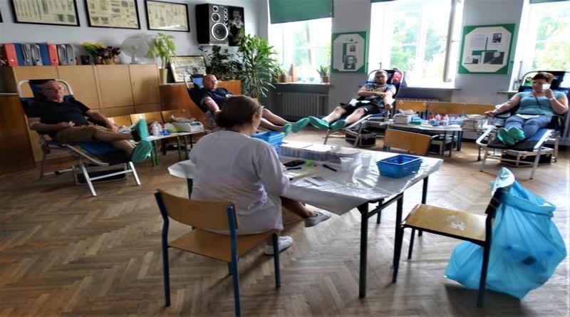 Krwiodawstwo w szkole – rekordowy Miłosław