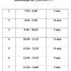 Przerwy i lekcje od 23 września