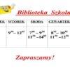Plan pracy biblioteki szkolnej w pałacu
