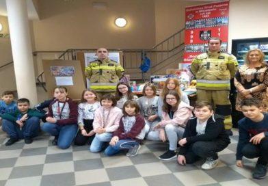 Paczka dla dzieciaka na święta od strażaka