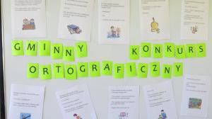 Gminny Konkurs Ortograficzny 2017 07