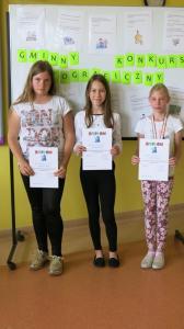 Gminny Konkurs Ortograficzny 2017 13