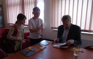 Spotkanie z Arkadym Radosławem Fiedlerem 2017 08