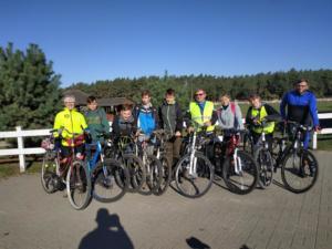 Wycieczka rowerowa klasy 8a 2018 06