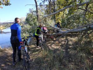 Wycieczka rowerowa klasy 8a 2018 16