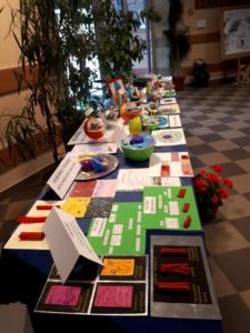 Komórki i tkanki - wystawa biologiczna XI 2019 09