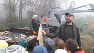 Lekcja otwarta  praca w rybołówstwie. Odłowy ryb X 2019  06