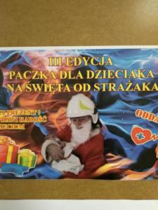Paczka dla dzieciaka na święta od strażaka XII 2019 02