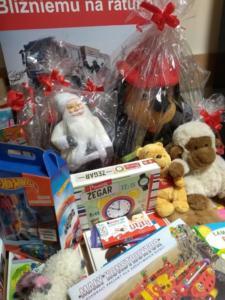 Paczka dla dzieciaka na święta od strażaka XII 2019 07