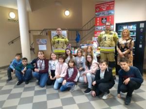Paczka dla dzieciaka na święta od strażaka XII 2019 10